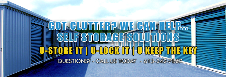 Storage Services in Brockville - About Image