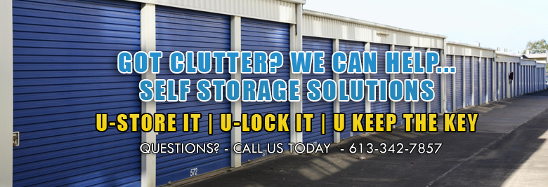 Storage Services in Brockville - Services Image